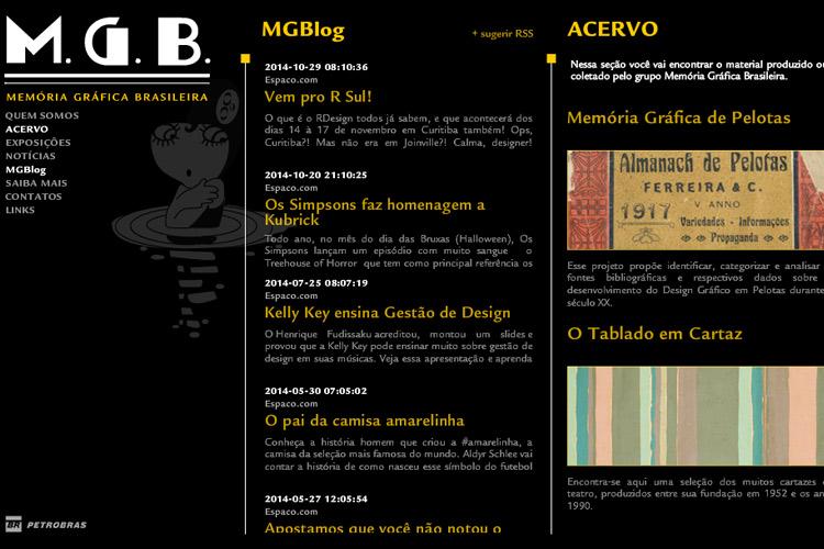 Memória-Gráfica-Brasileira web-site
