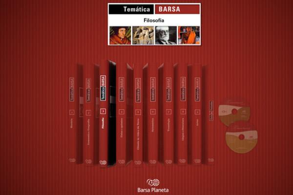 Barsa Temática website desenvolvimento