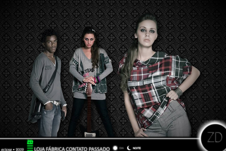 ZD Jeans 2009 Eclipse web-site