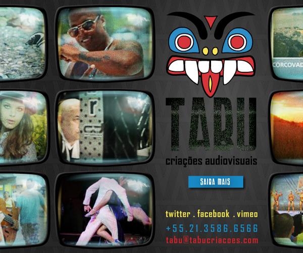 Tabu Produtora web-site